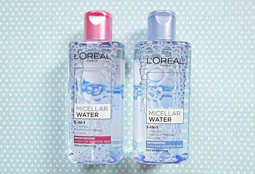 Nước tẩy trang L'Oréal 3 in 1 Micellar Water