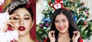 Học ngay cách trang điểm đẹp cho Giáng sinh ấm áp