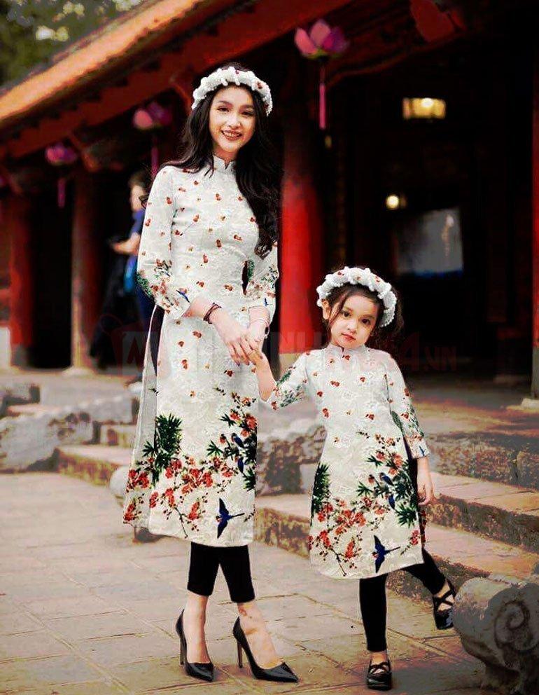 Mẫu áo dài cách tân đẹp