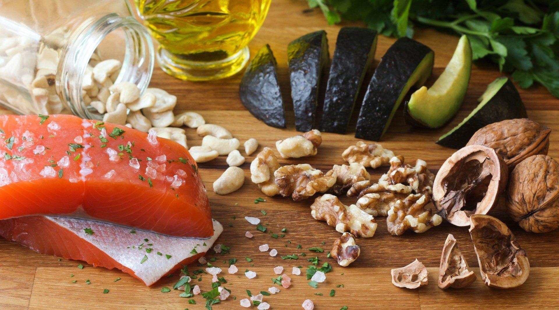 Chống lão hóa da bổ sung axit béo