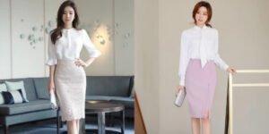 5 kiểu chân váy công sở đẹp và thu hút nhất