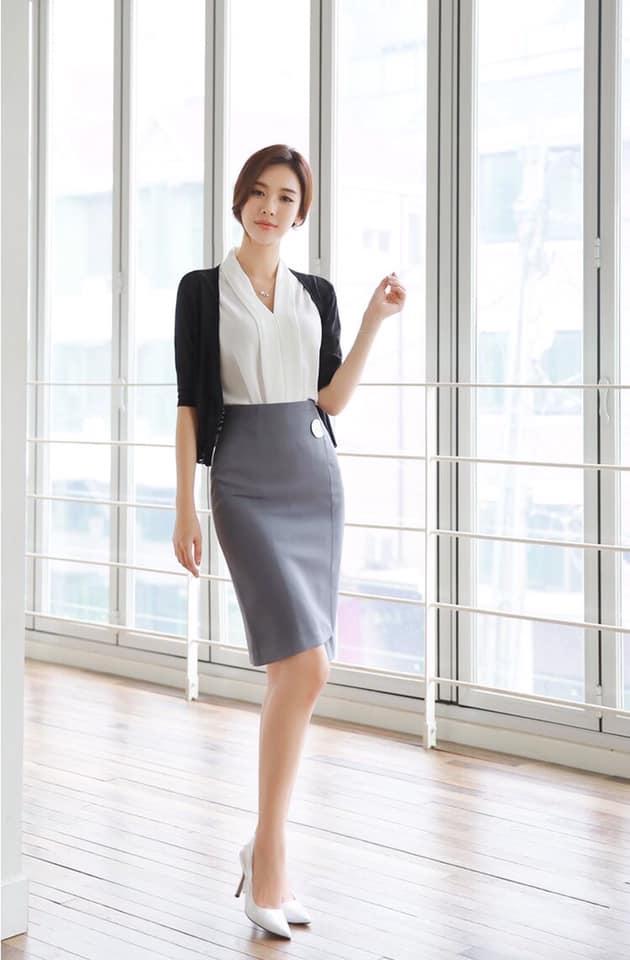 Chân váy công sở đẹp