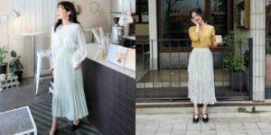 5 kiểu chân váy dài vintage xinh xắn và cực kỳ nữ tính