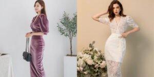 5 mẫu đầm đẹp đi đám cưới giúp nàng trông thật nổi bật