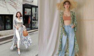 5 cách phối đồ cùng áo khoác kimono trong những ngày hè