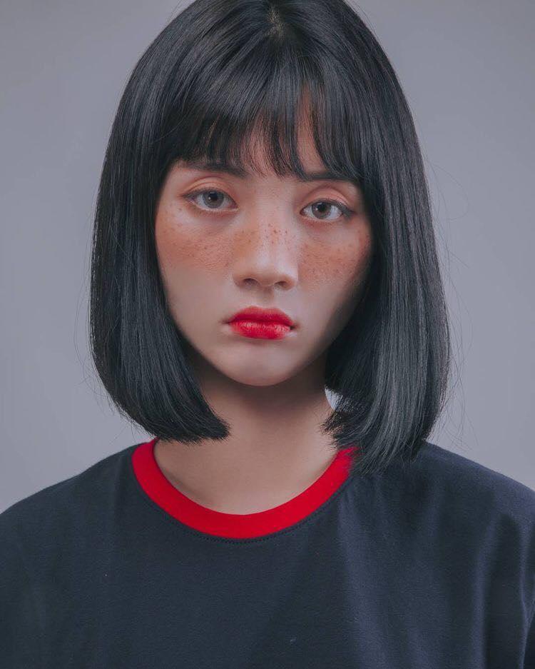 Kiểu tóc ngắn dễ thương