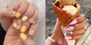 5 mẫu nail đơn giản dễ thương chào hè thật thích